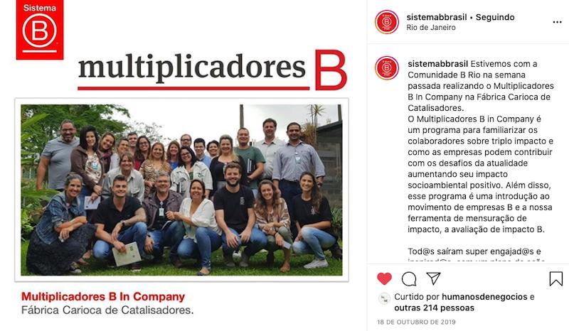 Sistema B Brasil - Empresas B do Rio de Janeiro
