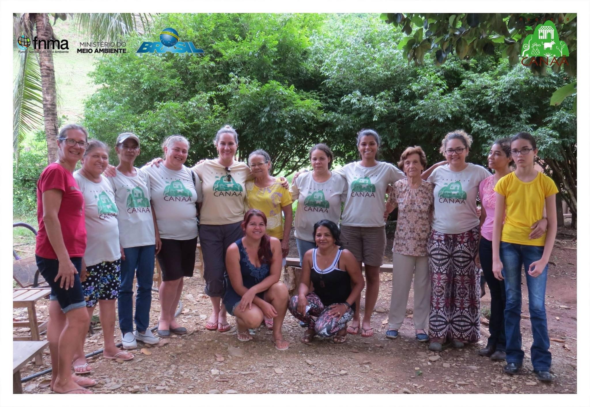 grupo de Mulheres do Assentamento Canaã. Uma parceria ICMBIO - Parna Serra da Bodoquena e Fundação Neotrópica do Brasil