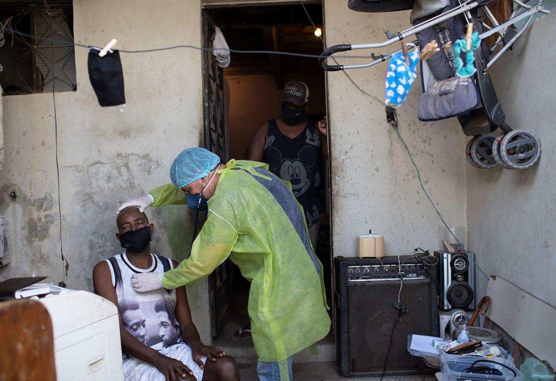 pandemia ods saúde