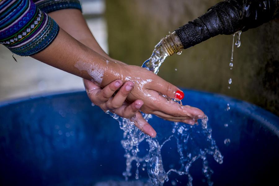 água e pandemia