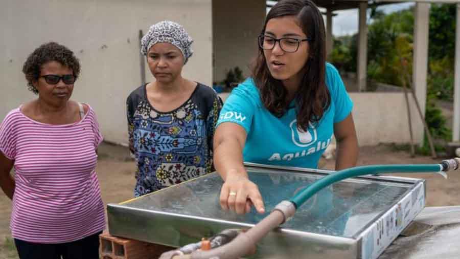 água e saneamento – acesso à água