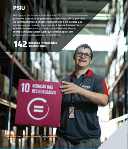 Patrus - ODS 10 - Redução de desigualdades